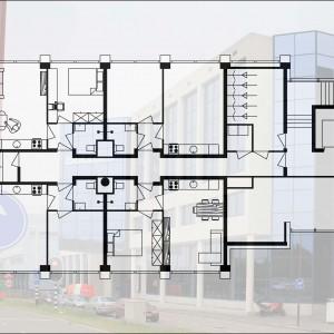 Nieuwegein, Centrum ii, 73 studio's