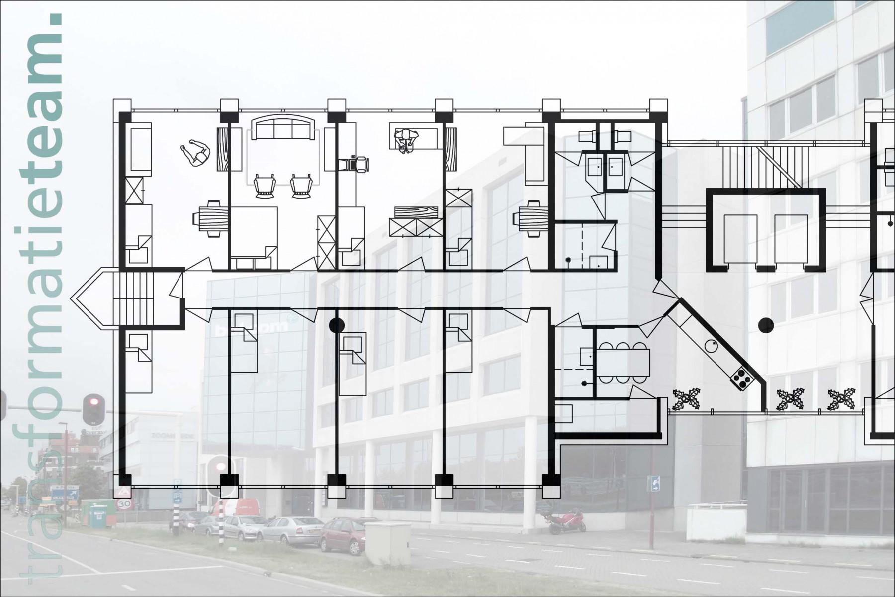 Nieuwegein, Centrum III, 111 eenheden