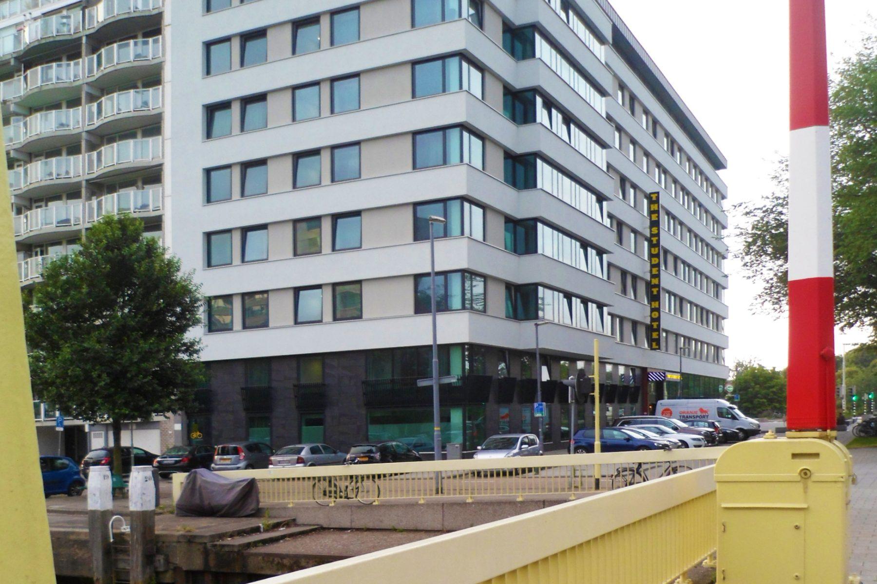 Rotterdam, Willem Ruyslaan, The Student Hotel